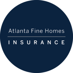 Atlanta Fine Homes Insurance Round Logo
